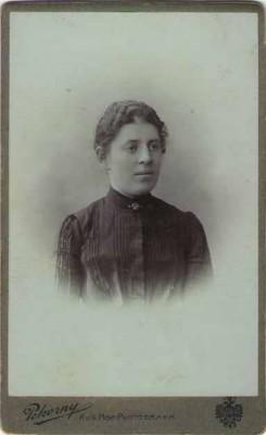 23129;CDV Foto Portait Frau 1880 Wien Pokorny