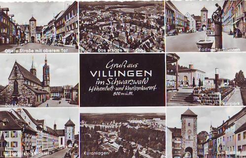 13474;Gruss aus Villingen Mehrbild