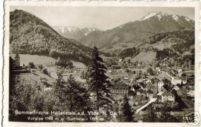 451;Sommerfrische Hollenstein an der Ybbs*