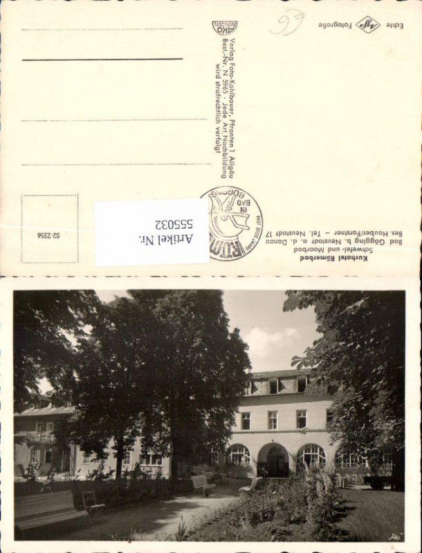 Römerbad Gögging bei Neustadt an der Donau LK Kelheim
