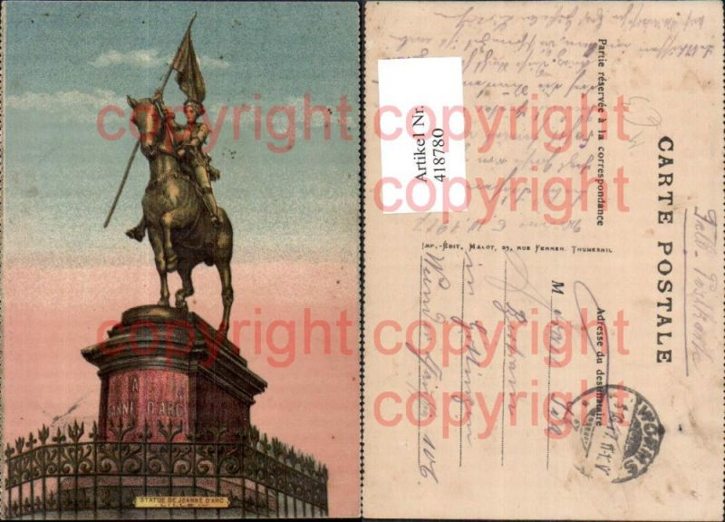 Statue de Jeanne d Arc Statue Monument