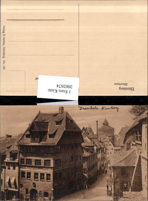 Nürnberg Dürerhaus Hausansicht