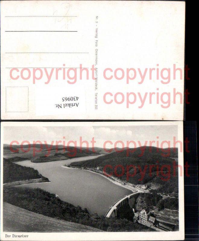 Talsperre Der Diemelsee Diemeltalsperre b. Diemelsee