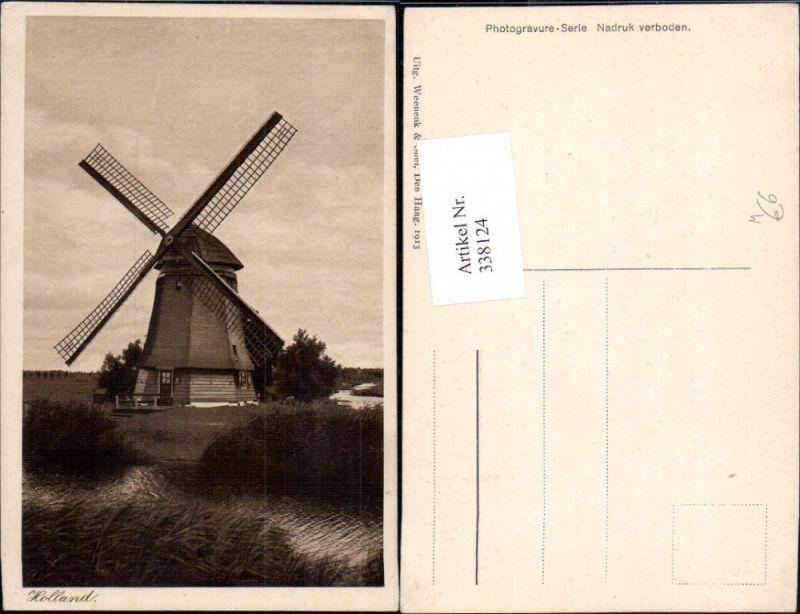 Windmühle Landschaft Holland