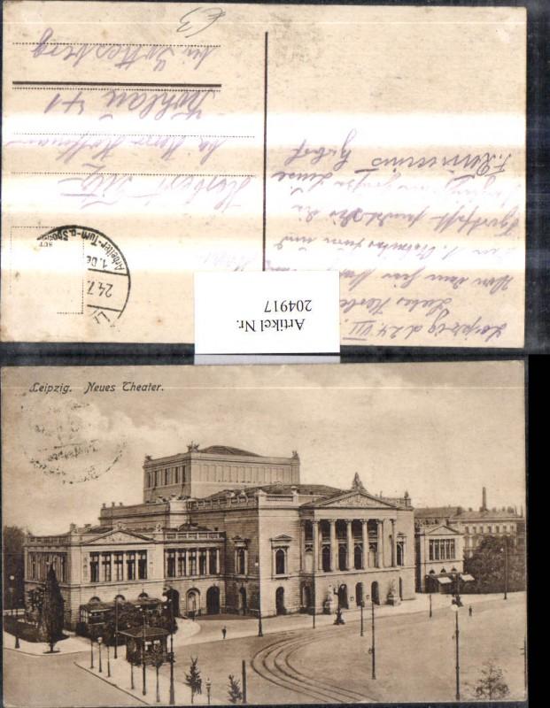 Leipzig Neues Theater Oper
