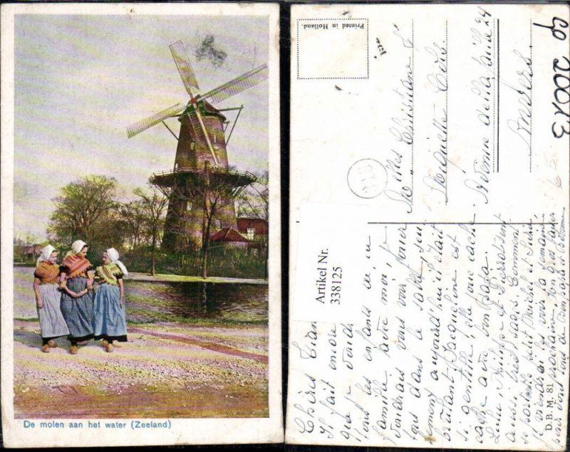 Windmühle De molen aan het vater Zeeland Mädchen Typen