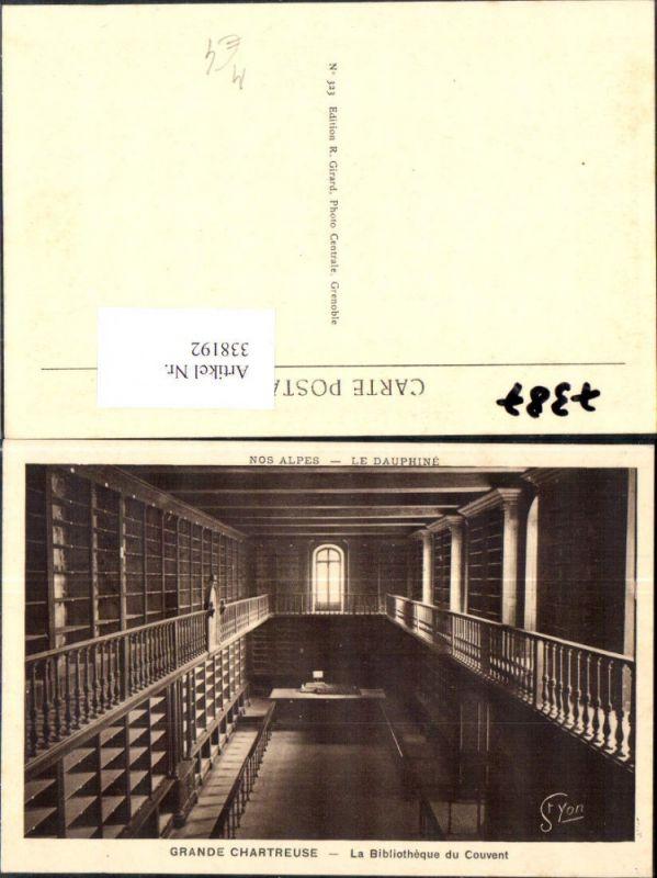 Bibliothek Grande Chartreuse La Bibliotheque du Couvent Le Dauphine Saint