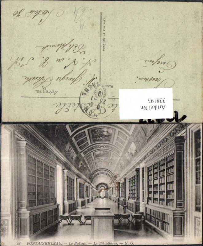 Bibliothek Fontainebleau Le Chateau La Bibliotheque