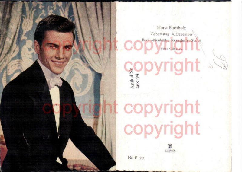 Schauspieler Horst Buchholz Portrait
