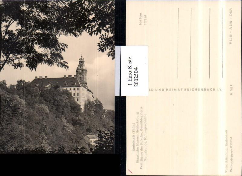 Rudolstadt i. Thüringen Römhild
