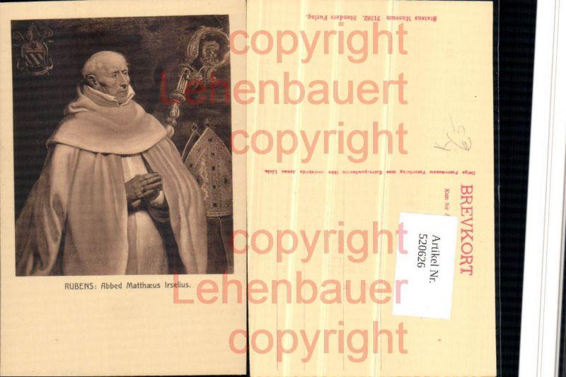 Künstler AK Rubens Abbed Matthaeus Irselius Bischof