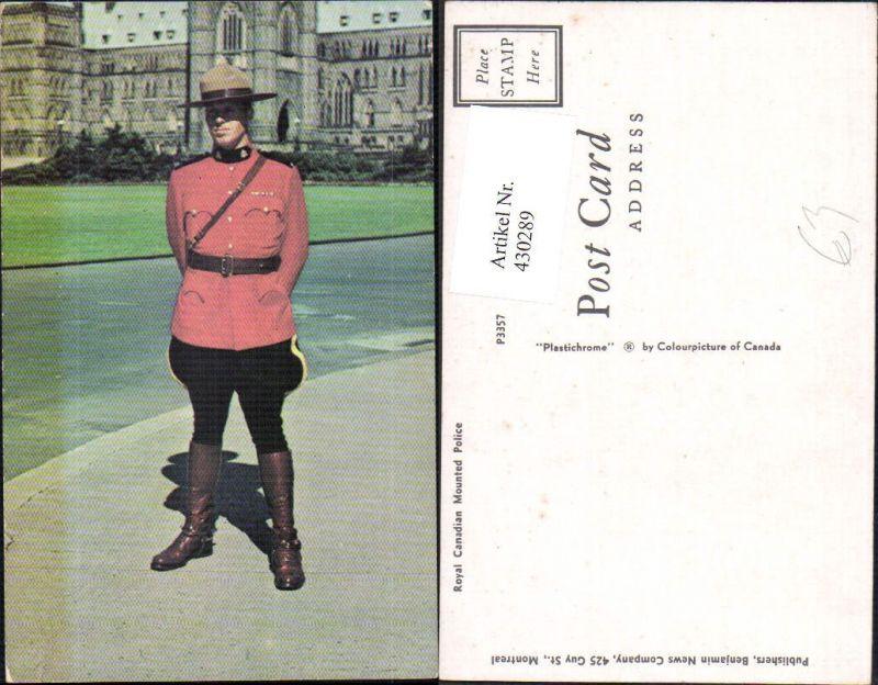 Royal Canadian Mounted Policeman Polizei Uniform