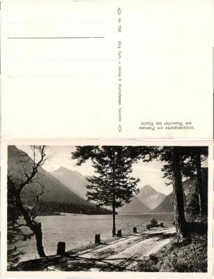 34609;Strassenpartie Plansee bei Reutte 1930