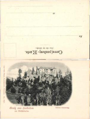 34303;Gruss aus Seeboden Schloss Sommeregg