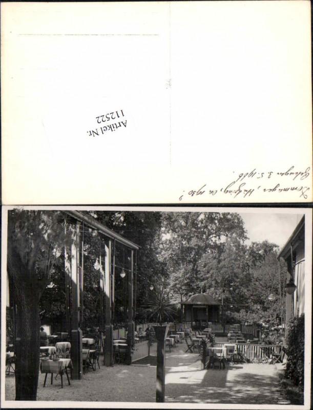 Wien 13 Hietzing Dommayerhof Gasthaus Cafe Gastgarten 1930