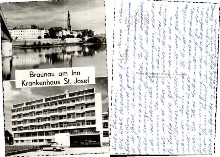 44374;Braunau am Inn Krankenhaus St Josef 1960