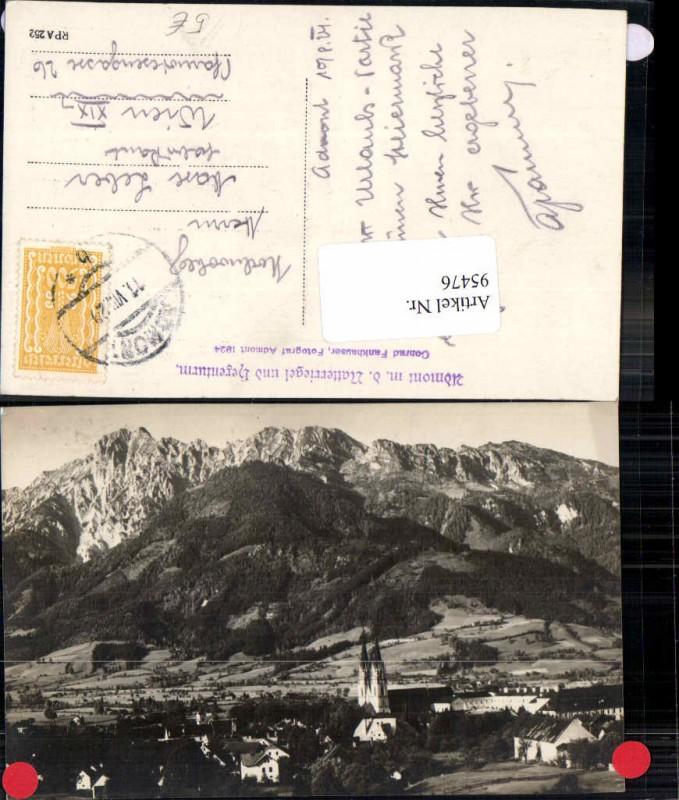 95476;Admont m. Natteriegel Gesäuse 1924