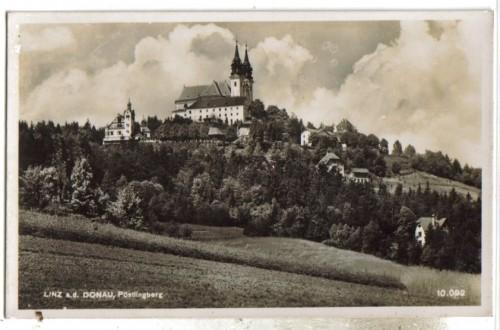 12379;Linz Donau Pöstlingberg 1940 Feldpost