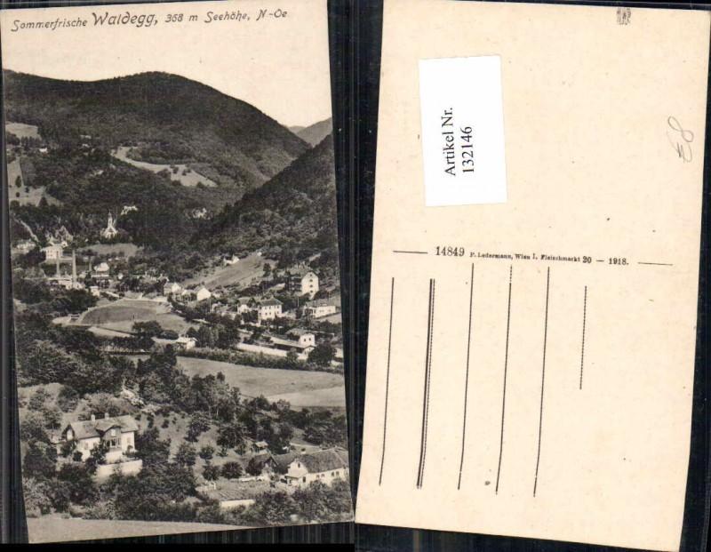 Sommerfrische Waldegg Teilansicht 1918