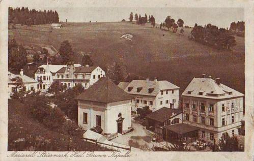 19032;Mariazell Heil. Brunnen Kapelle