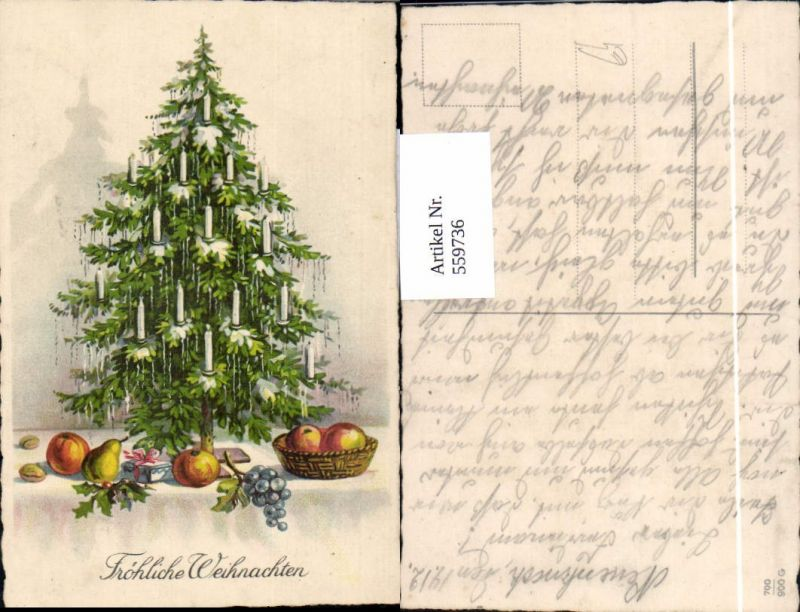 Weihnachten Artikel.Weihnachten Weihnachtsbaum Korb Obst Geschenk Nüsse