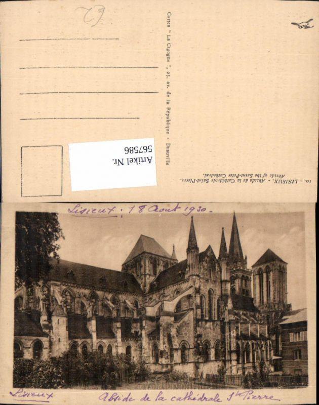 Lisieux Abside de la Cathedrale Saint-Pierre Abside of the Saint-Peter Ca