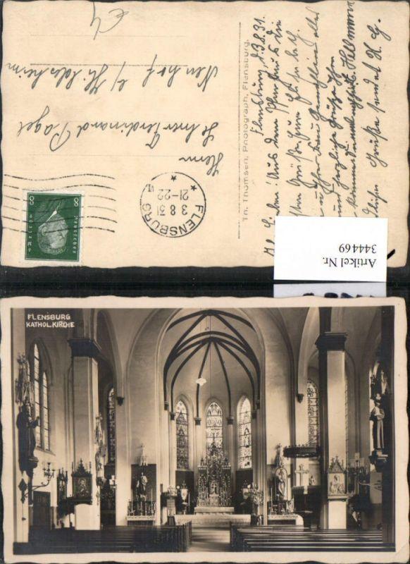 Flensburg Katholische Kirche Kirche Innenansicht