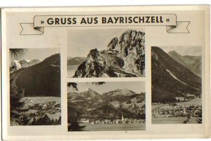 Gruss aus Bayrischzell Mehrbild 1940