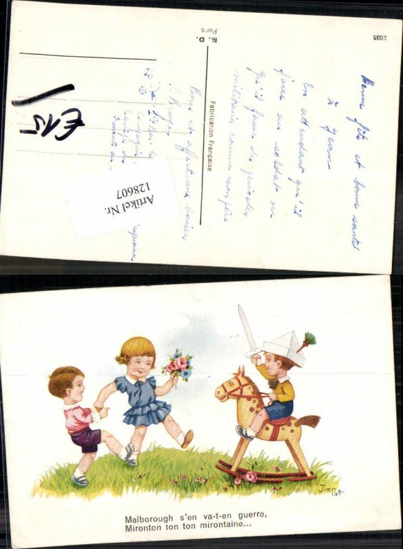 Jim Patt Süsse Kinder Schaukelpferd Ritter