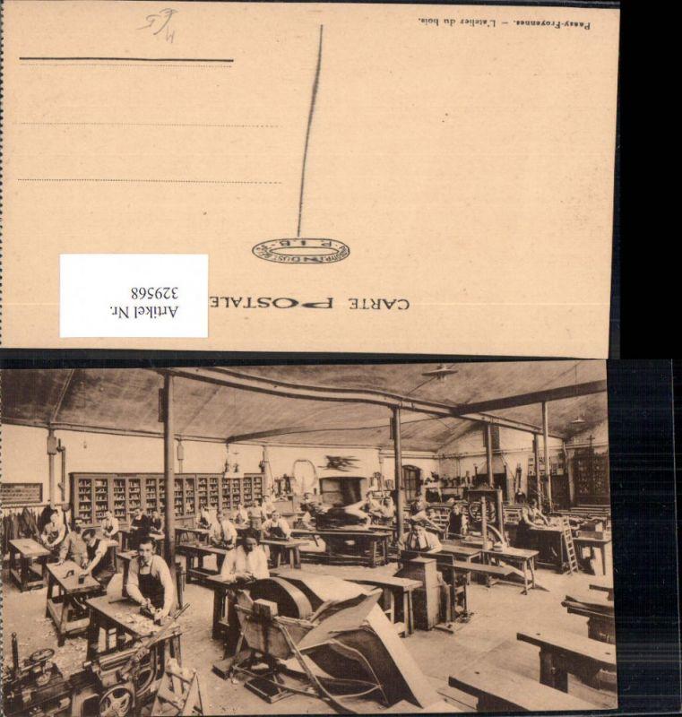 Tischler Tischlerei Werkhalle Passay Froyennes L atelier du bois Handwerk