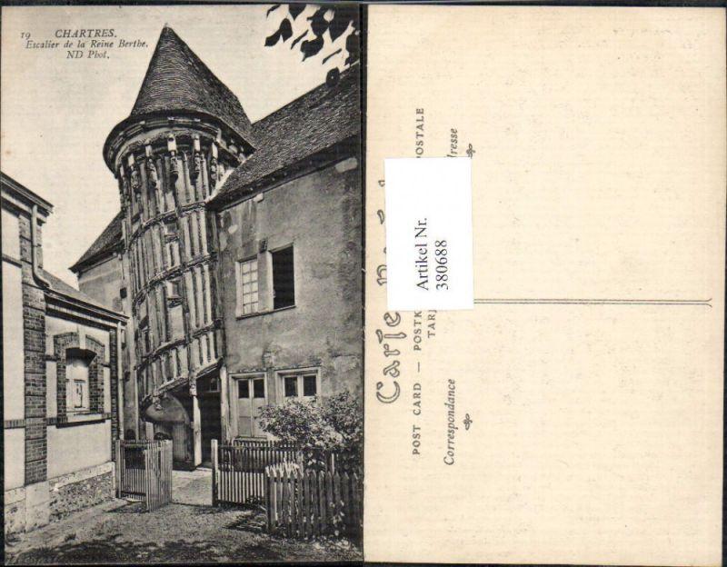 Schloss Burg Chartres Escalier de la Reine Berthe Wendeltreppe