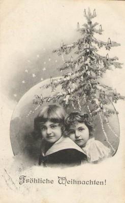 27713;Weihnachten Kinder Weihnachtsbaum