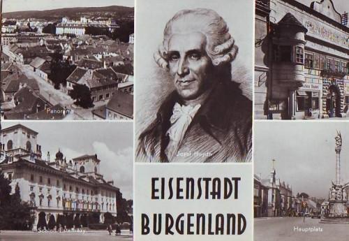 4888;Eisenstadt Burgenland Mehrbild Haydn Portrait