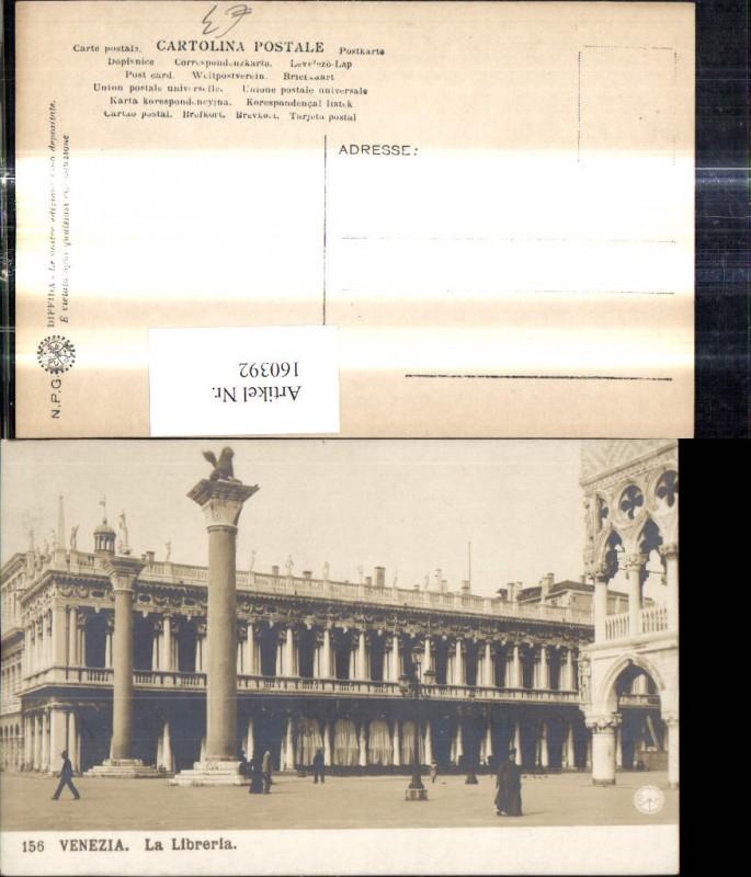 Veneto Venezia Venedig La Libreria