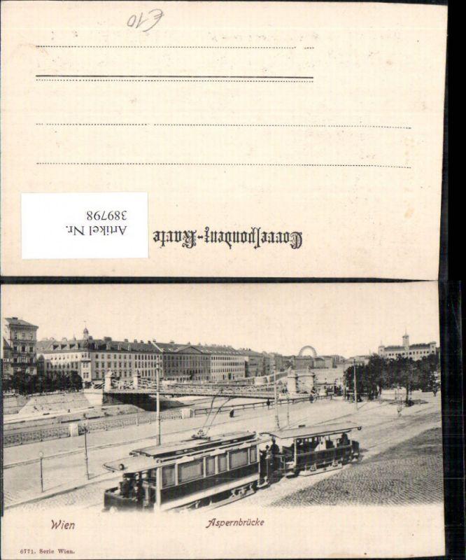 Straßenbahn Wien Aspernbrücke Brücke Riesenrad