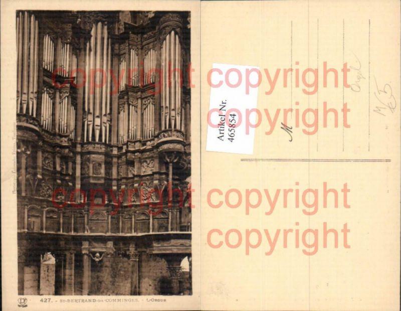 St Bertrand de Comminges L Orgue Orgel Musikinstrument