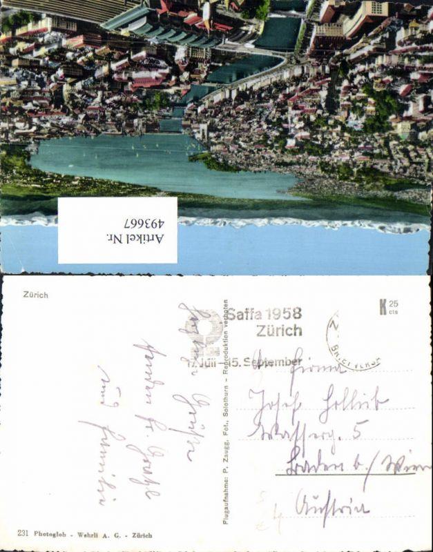 Stempel Saffa 1958 Zürich
