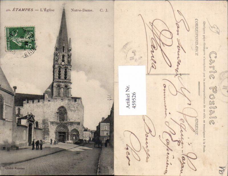 Ile-de-France Essone Etampes L Eglise Notre Dame Kirche