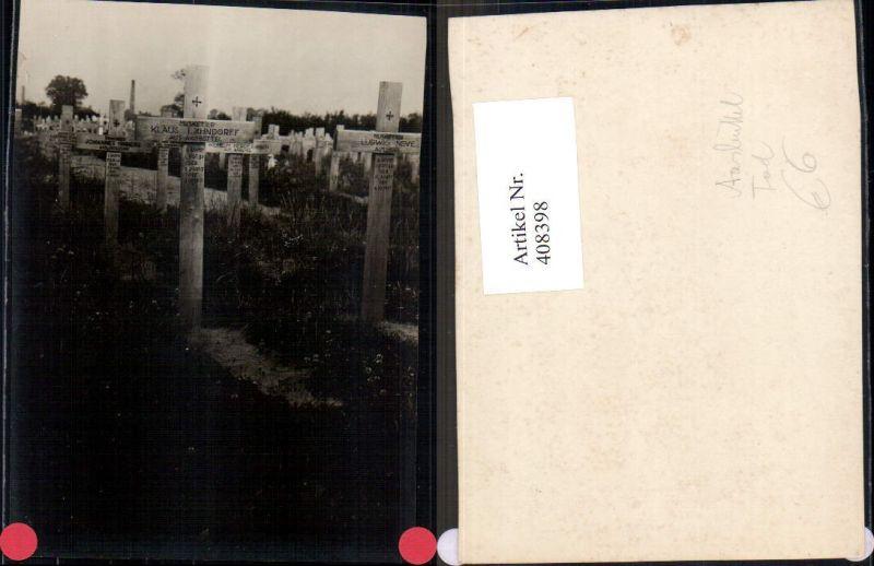 Foto Musketier Klaus Lähndorff Aasbüttel Kreuz Grab Tod