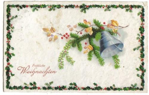 8769;Künstlerkarte Amag 2114 Weihnachtsgruss