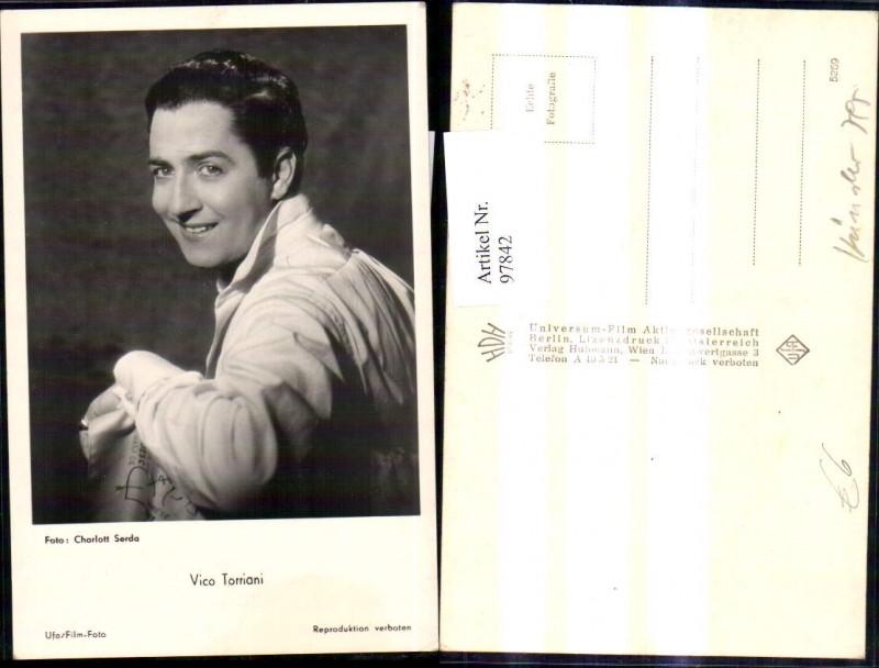 Vico Torriani Schauspieler