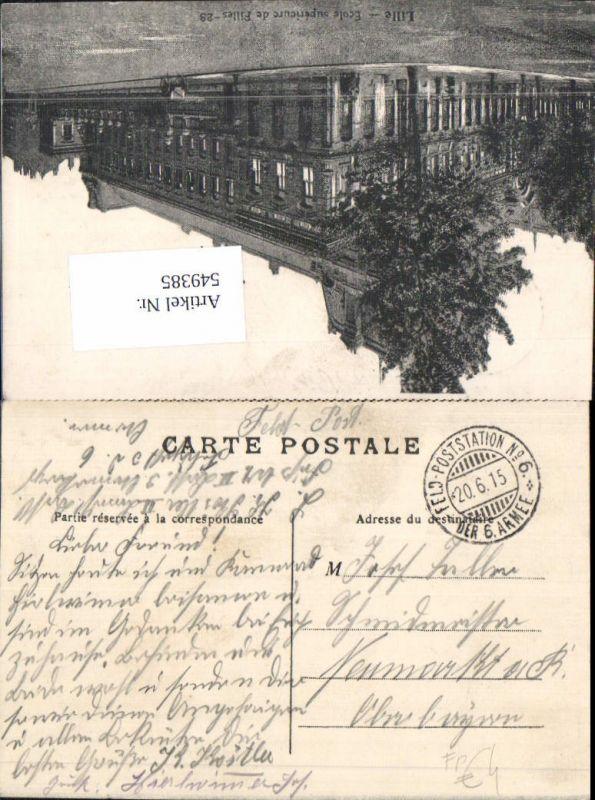 Deutsche Feldpost Poststation d. 6. Armee n. Neumarkt Oberbayern