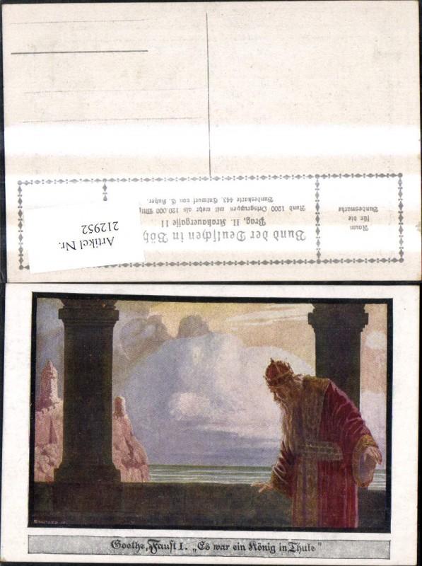Bund d. Deutschen i. Böhmen 443 E. Kutzer Goethe Faust I Es war ein König