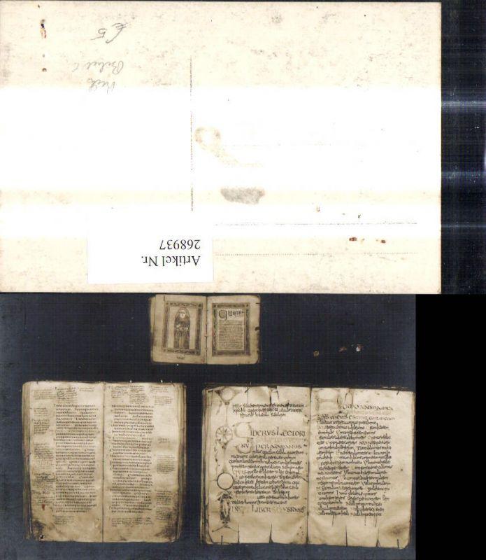 Foto Ak Buch Aufgeschlagenes Buch Seiten Bibel Lesen