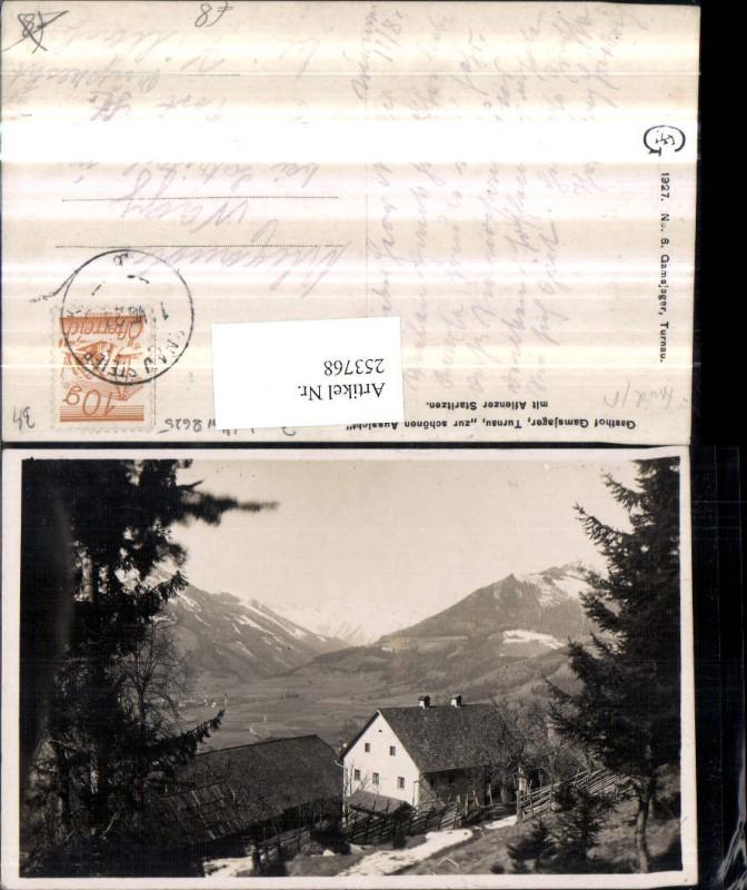 Gasthof Gamsjager zur schönen Aussicht b. Turnau m. Aflenzer Staritzen