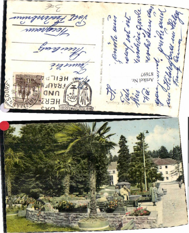 87697;Bad Tatzmannsdorf Kurpark