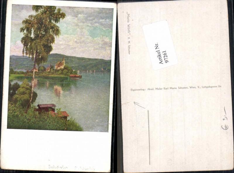 97261;Karl Maria Schuster Maria Wörth Wörthersee 1910