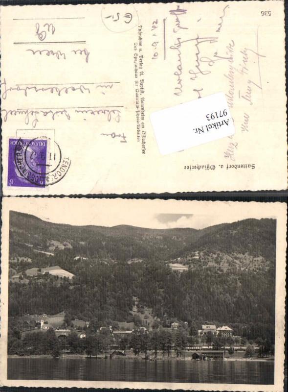 97193;Sattendorf am Ossiachersee 1937