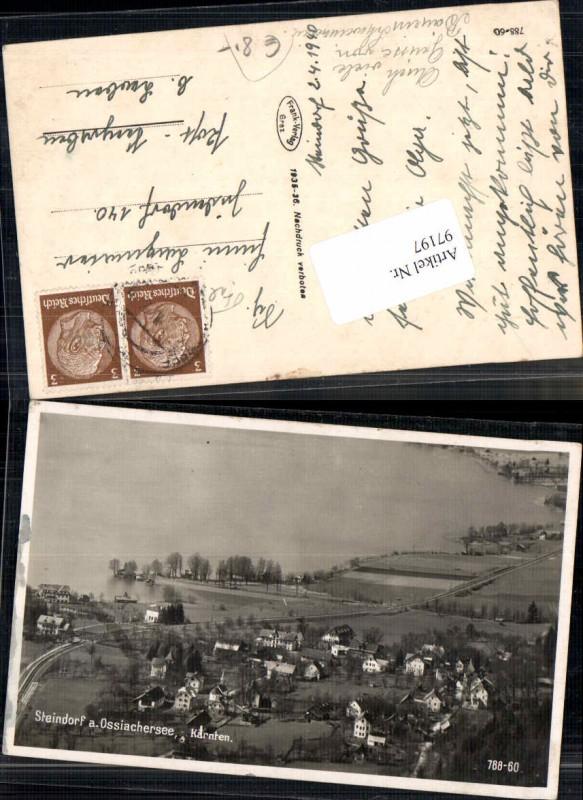 97197;Steindorf am Ossiachersee Häuserdetails 1936