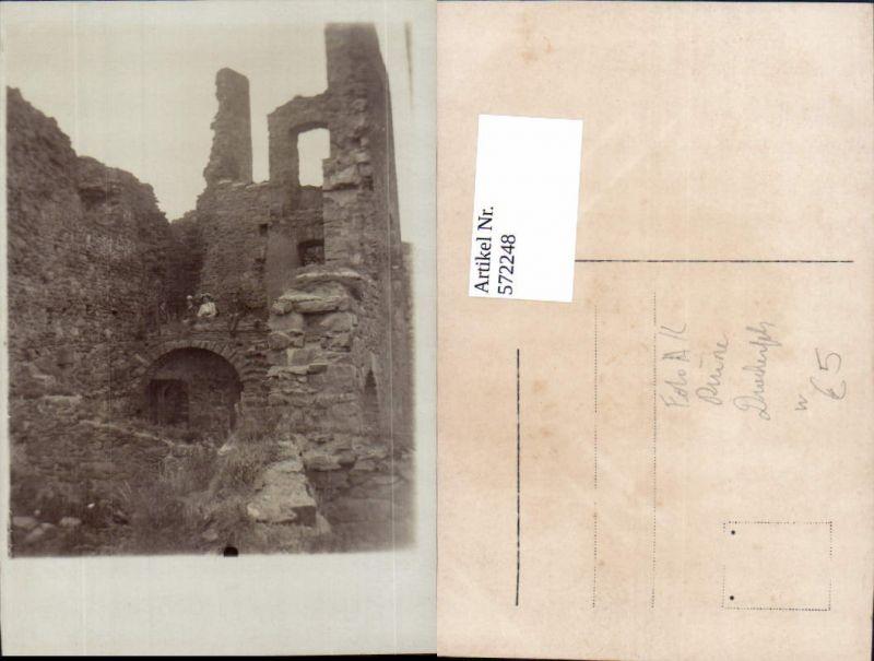 Foto Ak Ruine Drachenfels Königswinter